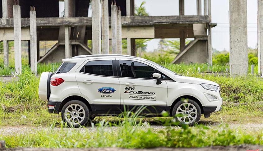 Điểm qua những ưu nhược điểm nổi bật của dòng xe Ford Ecosport 2019