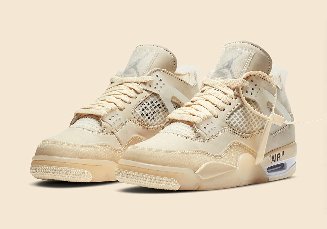 Những lưu ý khi chọn size giày Nike Air Jordan 4 Off White